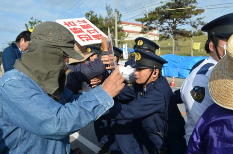 Ignoring governor's order to stop work, Japanese Government continues seabed boring in Henoko