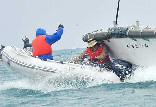 JCG's craft rams into protester's boat off Henko
