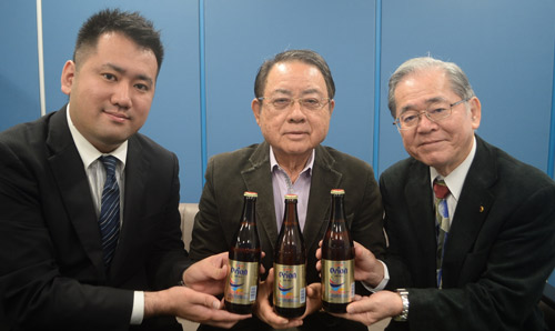 Orion Beer to donate one yen per beer towards the construction of Hawaii Okinawa Plaza