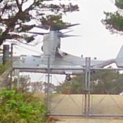 US military carries out Osprey training at new helipad in Takae for the first time