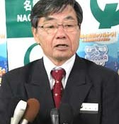 Nago Mayor criticizes Japanese government for resuming marine boring survey in Henoko