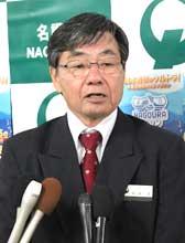 Nago Mayor criticizes Japanese government for resuming marine boring survey in Henoko