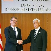 US Defense Secretary stresses importance of realignment of US forces in Japan, including Henoko relocation