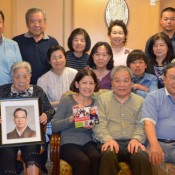 Third-generation Okinawan Hawaiian delighted to meet his relatives
