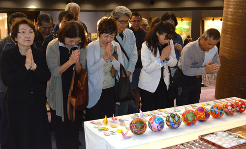 400 people pray for lasting peace at Shimi Festival