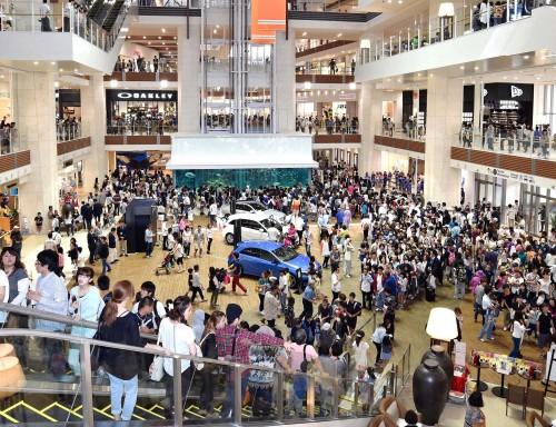 AEON MALL Okinawa Rycom opens
