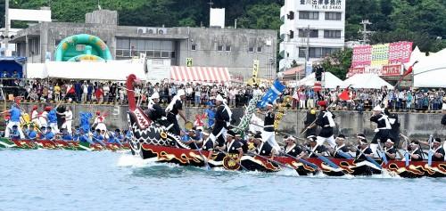 Naha Harii dragon boat race