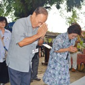 Memorial service held for Okinawan immigrants killed in Davao during World War II