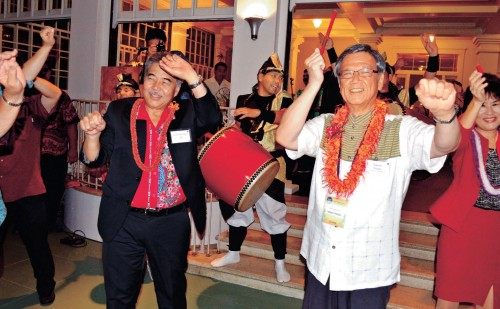 Okinawa, Hawaii celebrate 30th anniversary of establishment of sister-state relations