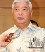 Nago Mayor at odds with defense minister; says distance between them has not narrowed on Henoko relocation.