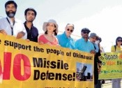NGO members and researchers from various countries visit Okinawa to learn about base issues