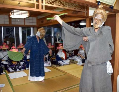 Angama celebrates return of ancestral spirits on Ishigaki's Unke
