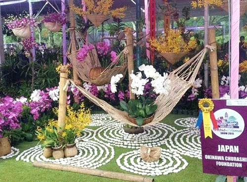 Okinawa Churashima Foundation wins top honour at Kuala Lumpur Orchid & Bonsai Show