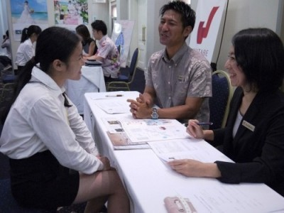 Okinawa holds job fair for students from China's Fujian province