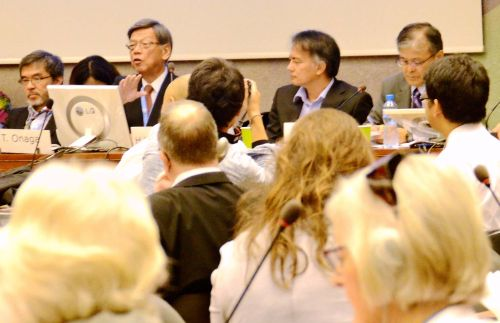 Historical Highlights of Okinawa's Hardships, Debating Base Issues at UN Symposium