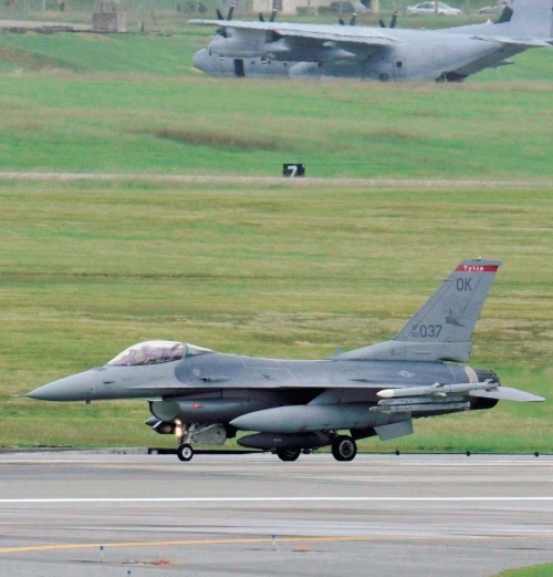 Strong opposition against temporary deployments of US Air National Guard F-16 squadrons to Kadena