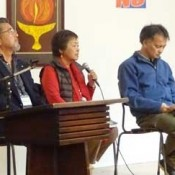 All Okinawa Council delegation to US meets with citizens' groups, conveys opposition to base construction