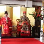 Ryukyu dynasty-style added to list of Okinawa resort weddings
