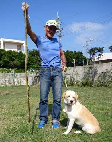 Discarded dog becomes snake hunter