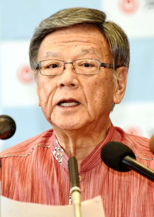 Okinawa Governor rejects national government's calls for a retraction of his withdrawal of base landfill approval