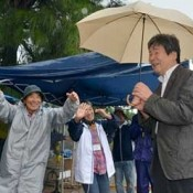 Acclaimed Ghibli director Takahata encourages citizens protesting against Henoko relocation