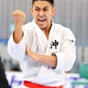 Kiyuna wins fourth straight victory at Japan Cup Karatedo