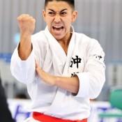 Kiyuna wins fourth straight victory at Japan Cup Karatedo
