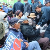 Former JSDF member calls sit-in at Camp Schwab a bulwark against militarism