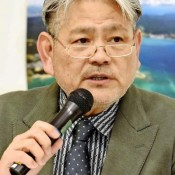 Business leader says 2,000 people will be given opportunity to work in Henoko if hotels are built instead of US base