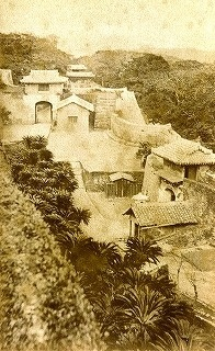 Photograph of Shuri Castle taken 130 years ago found in Yamagata