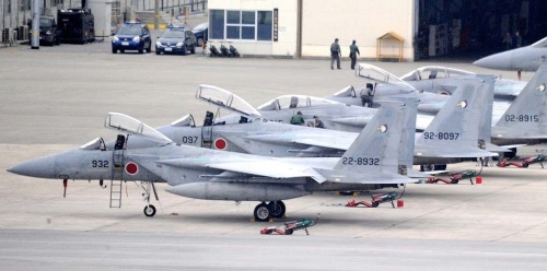 Concerns of congestion at Naha Airport arise from doubled number of F15s at JASDF Naha Air Base