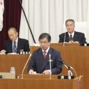 Mayor Inamine resolves to continue efforts blocking Henoko relocation