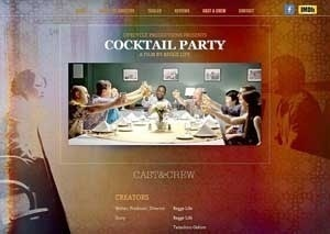 Movie version of novel Cocktail Party more than 10 years in the making