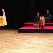 Okinawan Nisei Ono Immersed in Ryukyu Performing Arts