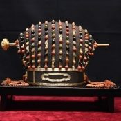 National treasure from Ryukyu Kingdom era displayed