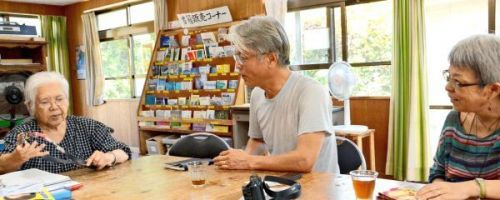 Inheriting non-violent way of life from father of the Okinawan civil rights movement