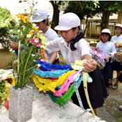 57th anniversary memorial ceremony for US military jet crash into Miyamori Elementary School