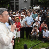 "Onaga: ""Government trying to wrest Okinawa into submission"" with lawsuit"