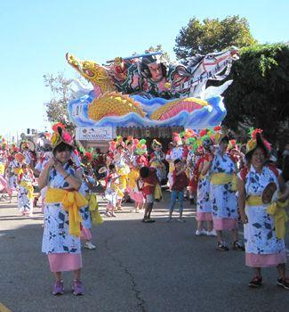 Aomori Nebuta Matsuri, the most festive scene at the parade