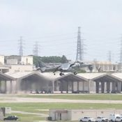 US Harrier jet crashes off Okinawa