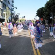 (United States) Cheers for Okinawan rhythms at Nisei Week Japanese Festival