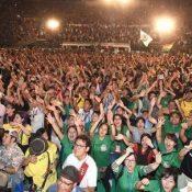 Uchinanchu Festival Closing Ceremony saw 15,395 enthusiastically carry on Okinawa's spirit