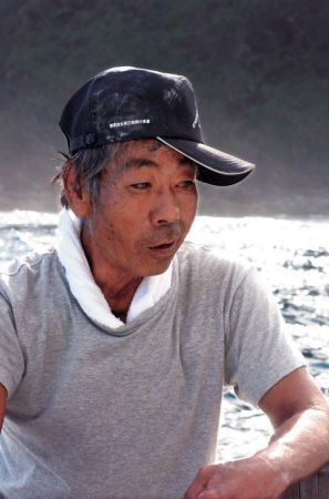 Fisherman Yamashiro: Destroying the forests will kill the ocean