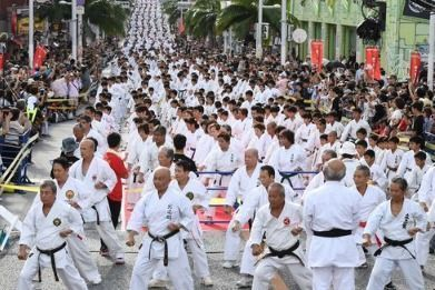 Okinawa Plans 40 country, 700 participant International Karate Tournament for the summer of 2018
