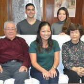 Relatives in Hawaii and Okinawa united thanks to old passport and Worldwide Uchinanchu Festival
