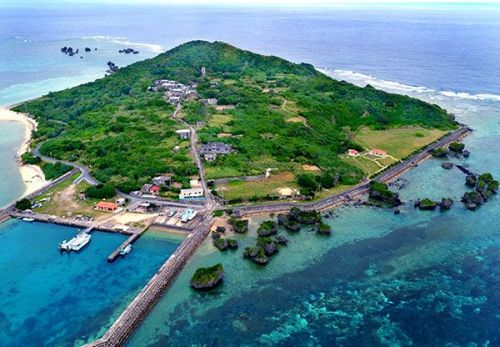 Ogami Island, just 4 km from Miyako Island, a mysterious place protecting tradition
