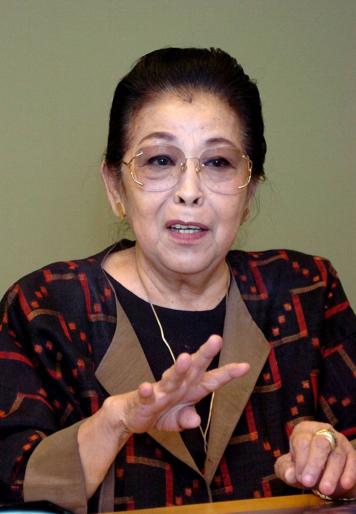 Sumiko Kitajima, who spread a message of peace with her one-woman play, dies at 85