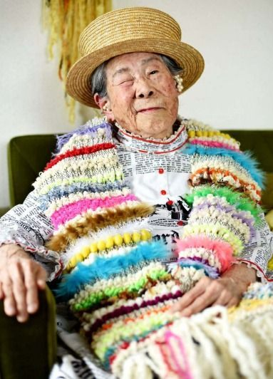 94-year-old model from Iejima becomes Instagram sensation with 36000 followers