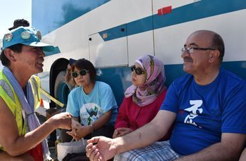 Palestinian doctor who visited Henoko says Okinawa is under occupation