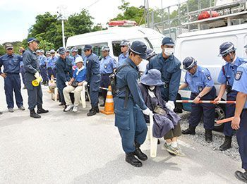 Sit-in protestors claim fight against Takae construction is ongoing